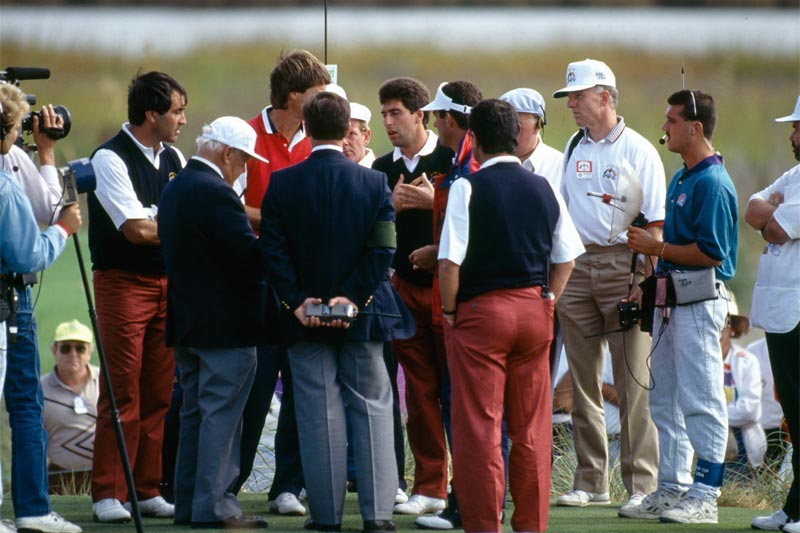 07: Azinger vs. Ballesteros – 1989, Ryder Cup, The Belfry
