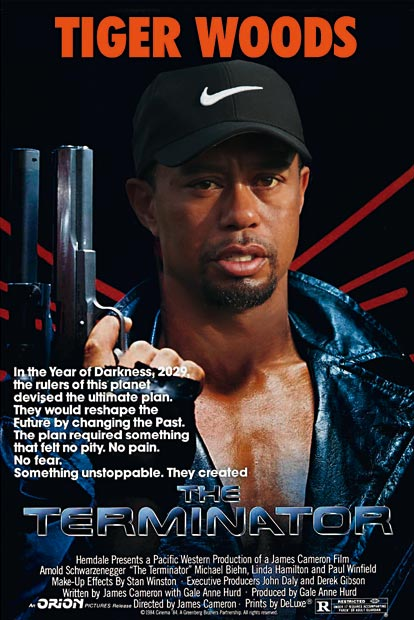 01: Terminator – Tiger Woods - US Open 2008