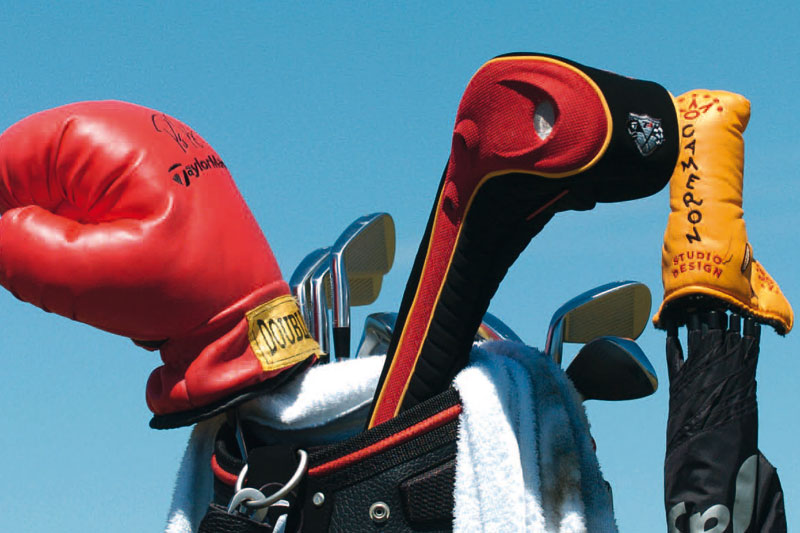 Is' was?: US Open 2004: Allein das Headcover war ein Statement