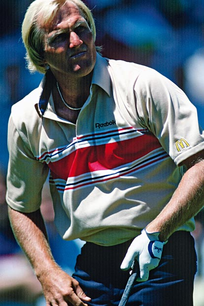 Greg Norman: Total analog: Instagram-Follower anno 1996