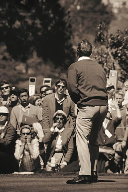 Walter Iooss: Arnold Palmer, US Ppen, Olympic Club San Francisco 1966