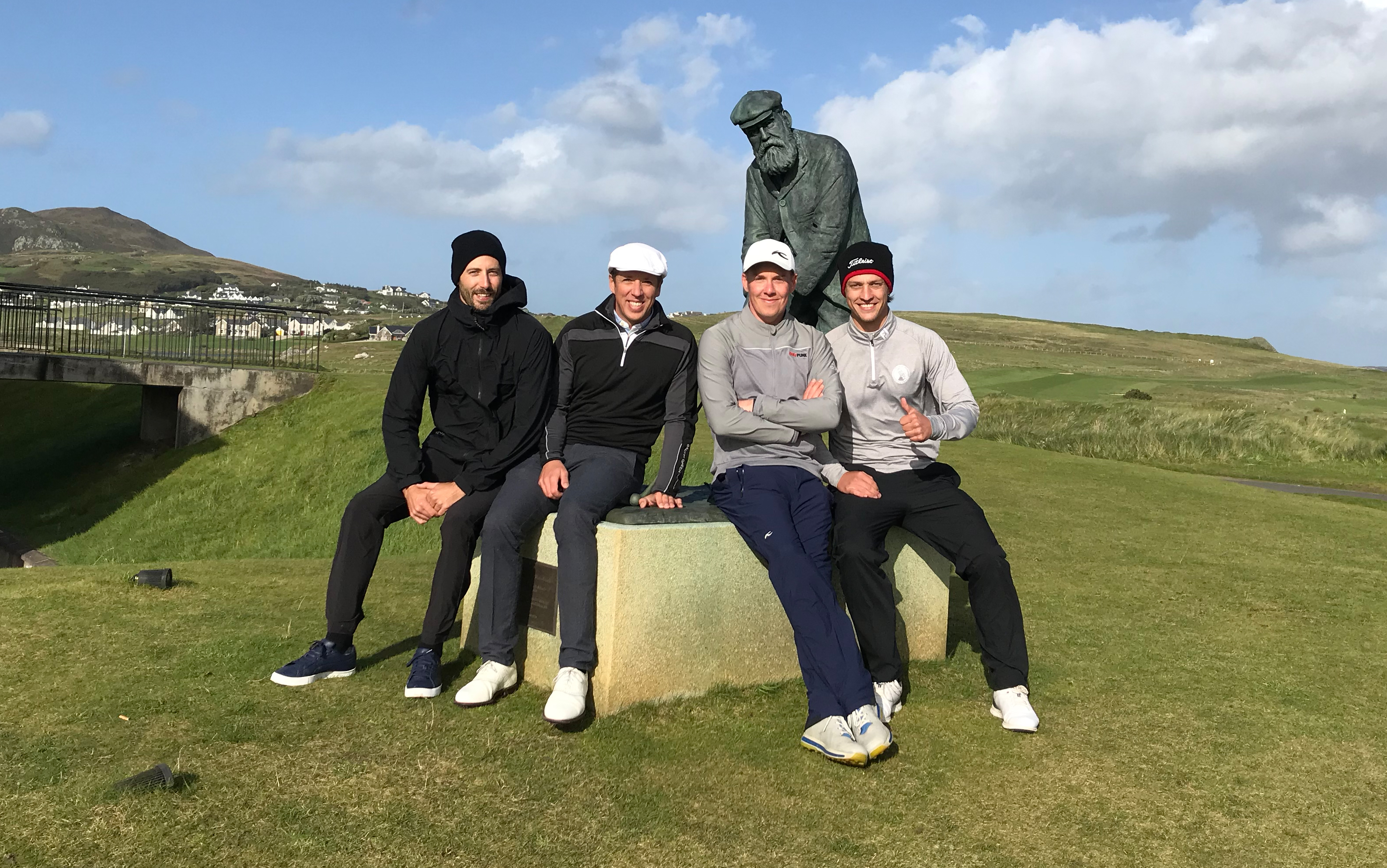 Mulroy Links Tournament: Tag 1