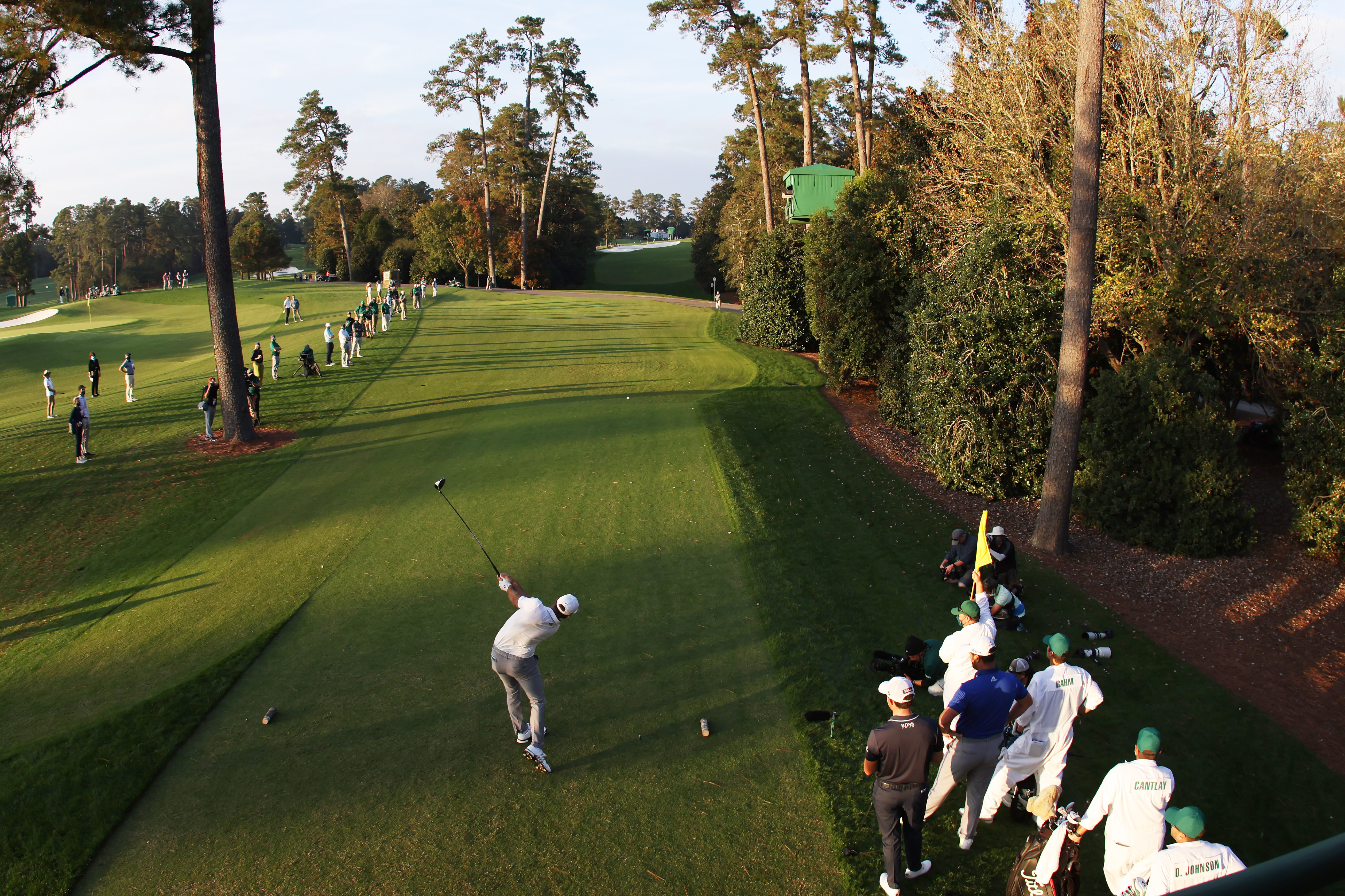 Good Morning, Augusta: Wie kann Dustin Johnson das noch vergeigen?