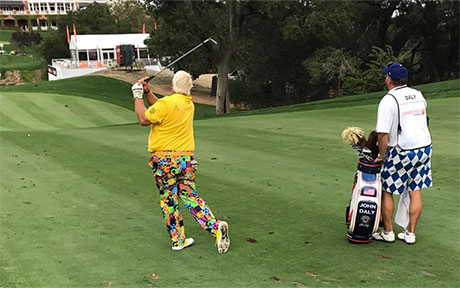 John Daly: Mit Hawaiihemd im Oval Office