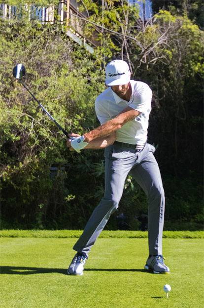 Schwungsequenz: Dustin Johnson: Der Longhitter der Tour